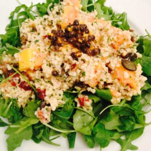 Erfrischender Papaya Hirse Salat