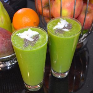 Ananas-Spinat Smoothie
