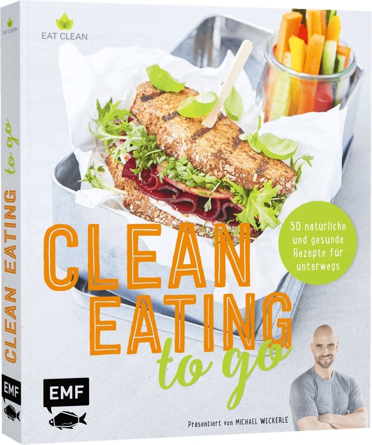 """Clean Eating to Go"" Buch"